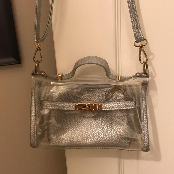 fd295c37f4ee Handbags - Clear crossbody purse